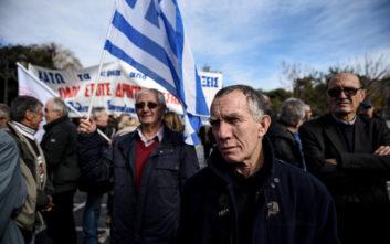 Σε εξέλιξη συλλαλητήριο συνταξιούχων στο κέντρο της Αθήνας