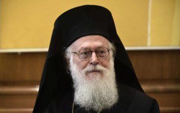 Τις δύο οικογένειες, Κατσίφα και Ζίλφα, συλλυπήθηκε ο Αρχιεπίσκοπος Αναστάσιος