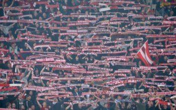 Οι οπαδοί της Μπάγερν ζητούν να τιμωρηθεί η ΑΕΚ
