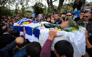 Συγκίνηση στο τελευταίο αντίο στον Κωνσταντίνο Κατσίφα