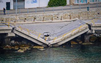 Αναμένεται το πόρισμα των μηχανικών για την κατάρρευση της γέφυρας στην Καβάλα