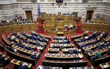 Άνοιξε η συζήτηση στη Βουλή για εκλογή Προέδρου της Δημοκρατίας και δημοψηφίσματα