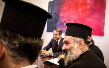 Μητσοτάκης σε ιερείς: Η ηγεσία της Εκκλησίας χρησιμοποιήθηκε από τον Τσίπρα ενόψει εκλογών