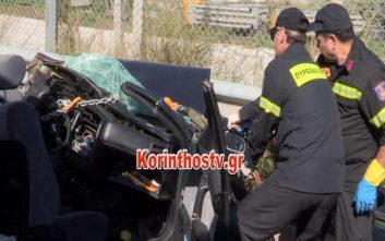 Τραγωδία με δύο νεκρούς σε τροχαίο στην παλιά εθνική Αθηνών - Κορίνθου