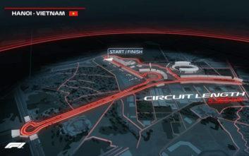 Η Formula 1 πηγαίνει από το 2020 στο Βιετνάμ