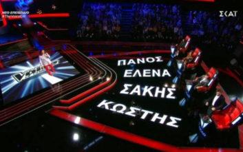 Το χατίρι της συντρόφου του έκανε διαγωνιζόμενος στο The Voice