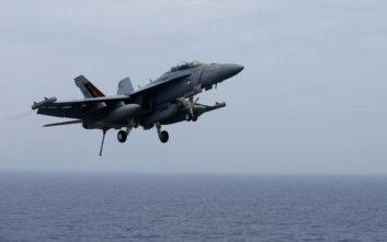 Αμερικανικό μαχητικό συνετρίβη στη θάλασσα των Φιλιππίνων