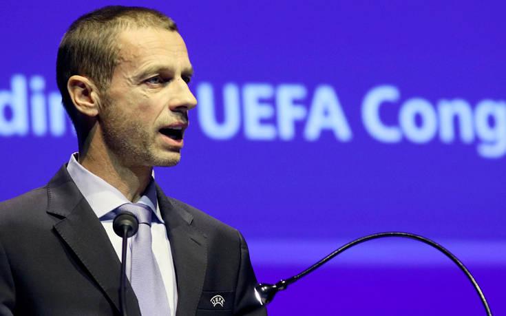 Πρόεδρος UEFA: Από τις κυβερνήσεις εξαρτάται αν θα παίξουμε ή όχι