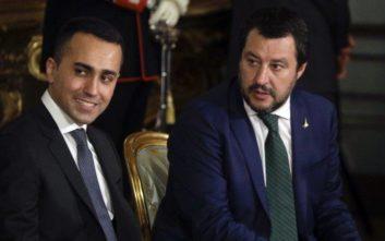 Στο ίδιο μήκος κύματος Σαλβίνι και Ντι Μάιο για τον ιταλικό προϋπολογισμό