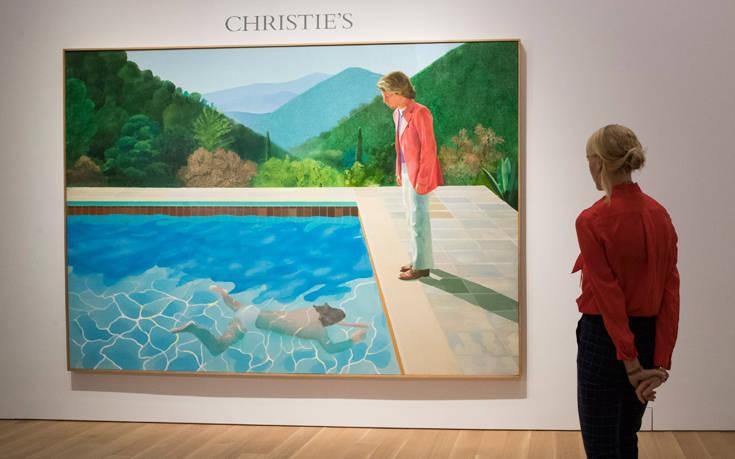 Τιμή – ρεκόρ για διάσημο πίνακα του Χόκνεϊ