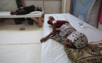 Μέσα σε 3 μήνες πέθαναν από χολέρα στην Υεμένη 190 άνθρωποι