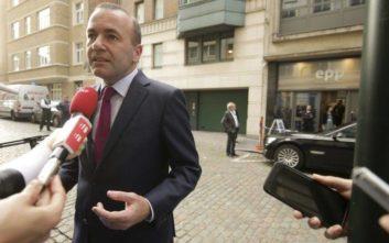 Βέμπερ: Ο Τσίπρας είπε πολλές αναλήθειες για να γίνει πρωθυπουργός