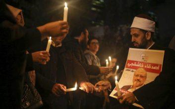 Συγκέντρωση στη μνήμη του Τζαμάλ Κασόγκι στην Κωνσταντινούπολη