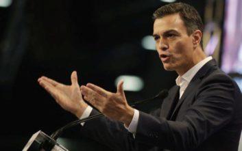 Ζυμώσεις στην Ισπανία για τον εκ νέου διορισμό του Σάντσεθ στην πρωθυπουργία
