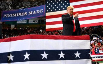 Ξεκινάει τη μάχη για δεύτερη θητεία ο Τραμπ