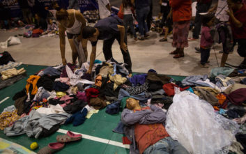 Οι πρώτοι μετανάστες του καραβανιού έφτασαν στην Πόλη του Μεξικού