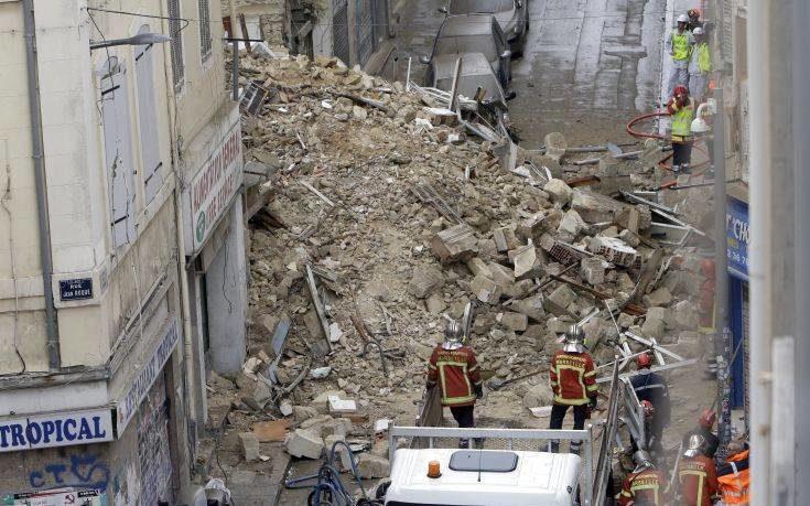 Επτά αγνοούμενοι από κατάρρευση κτιρίων στη Μασσαλία