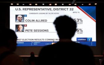 Σκληρές μάχες για μια θέση στη Γερουσία, μεταξύ Δημοκρατικών και Ρεπουμπλικανών