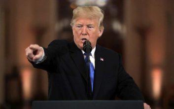Διάγγελμα Τραμπ απόψε «για την ασφάλεια των συνόρων»