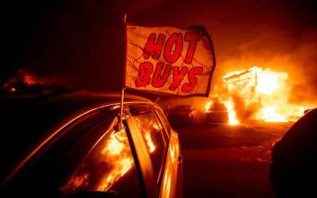 Τουλάχιστον 23 οι νεκροί από την πύρινη λαίλαπα στην Καλιφόρνια