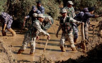 Στα 13 τα θύματα από τις πλημμύρες στην Ιορδανία