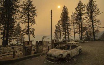 Κόλαση φωτιάς στην Καλιφόρνια με 31 νεκρούς και εκατοντάδες αγνοούμενους