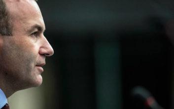 Βέμπερ: Είναι ζήτημα χρόνου η ιταλική κυβέρνηση να υποχωρήσει