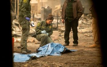 Στους 87 οι νεκροί από τις φωτιές στην Καλιφόρνια