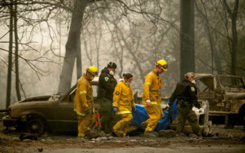 Αυξάνονται δραματικά νεκροί και αγνοούμενοι στην Καλιφόρνια
