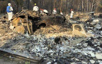 Κάποιοι από τους νεκρούς της πυρκαγιάς στην Καλιφόρνια ίσως να μη βρεθούν ποτέ