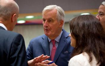 Μπαρνιέ: Δίκαιη και ισορροπημένη η συμφωνία Λονδίνου-Βρυξελλών