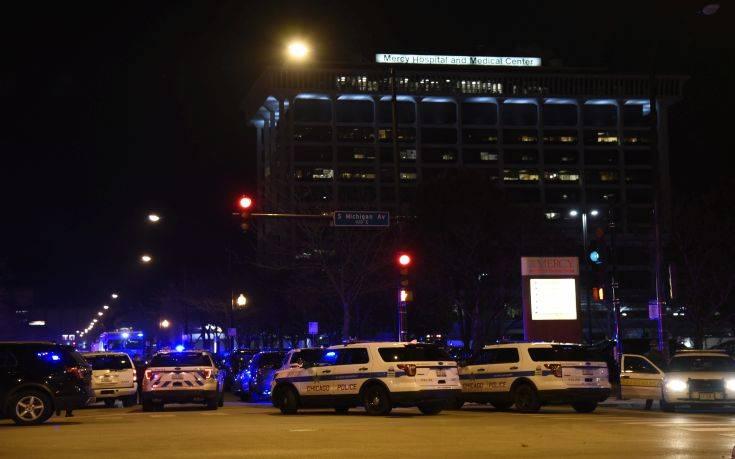 Στους τέσσερις οι νεκροί από το μακελειό στο νοσοκομείο Mercy στο Σικάγο