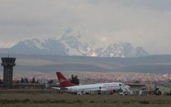 Αεροσκάφος στη Βολιβία προσγειώθηκε με την «κοιλιά»