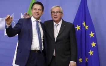 Άνοιγμα Κόντε στην Ε.Ε. για την αποφυγή κυρώσεων