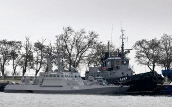 Η Ουκρανία προσφεύγει κατά της Ρωσίας μετά το θερμό επεισόδιο