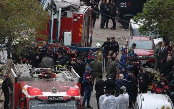 Στην εντατική ο τραυματίας από τη συντριβή του ελικοπτέρου στην Κωνσταντινούπολη