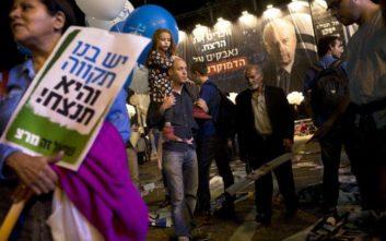 Χιλιάδες Ισραηλινοί τίμησαν τη μνήμη του Γιτζχάκ Ράμπιν