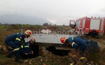 Πυροσβέστες έσωσαν κατσικάκια από πνιγμό