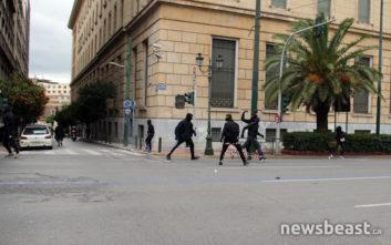 Ένταση στο συλλαλητήριο στην Αθήνα