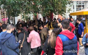 Ο συνωστισμός στο κέντρο της Αθήνας που δεν ήταν για τη Black Friday 2018