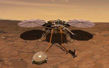 Έτοιμος για προσεδάφιση στον Άρη ο ρομποτικός σεισμολόγος InSight
