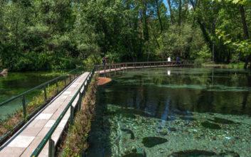 Ένα από τα ωραιότερα πάρκα της Ευρώπης βρίσκεται στη Δράμα