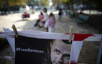 Ουκρανός κινηματογραφιστής «επέζησε» της απεργίας πείνας που έκανε για 145 μέρες