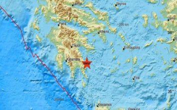 Σεισμός τώρα στη Μονεμβασιά