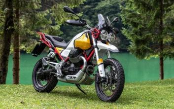 Μια Moto Guzzi... παντός εδάφους
