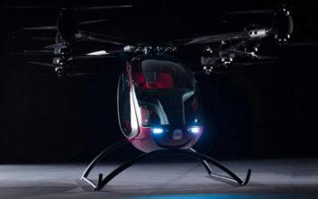 Το επιβατικό… drone που έρχεται να αλλάξει τους κανόνες του παιχνιδιού