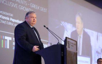 Βενιζέλος: Η Ελλάδα δεν είναι δημοσιονομικά ασφαλής