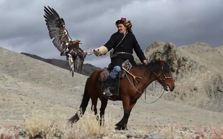 Οι τελευταίοι μογγόλοι κυνηγοί με αετούς
