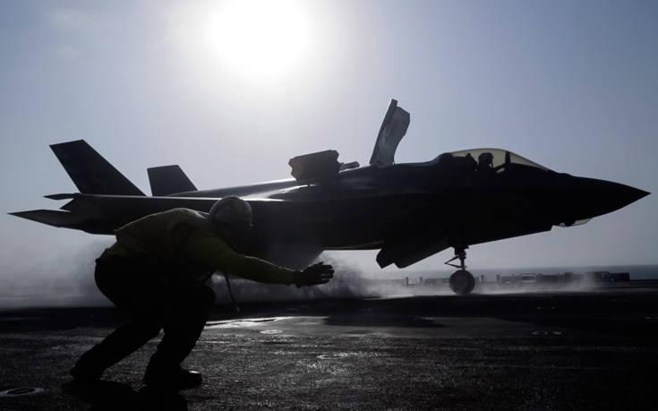 «Ανοικτός ο δίαυλος επικοινωνίας μεταξύ ΗΠΑ και Τουρκίας για τα F-35»