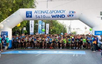 Κορυφαίοι Έλληνες μαραθωνοδρόμοι ο Κώστας Γκελαούζος και η Ελευθερία Πετρουλάκη της WIND Running Team